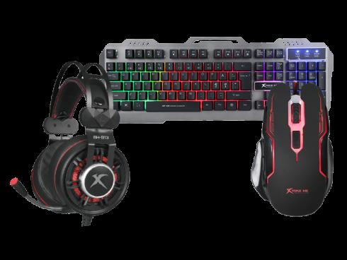 gaming bundles med tastatur, mus og headset