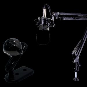 Livestreaming udstyrspakke