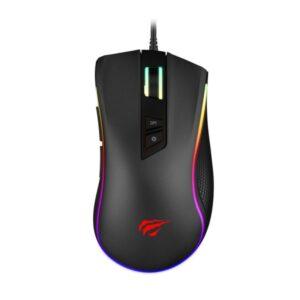 HAVIT 7-knappers LED gaming mus med lynhurtig sensor. HV-MS300.