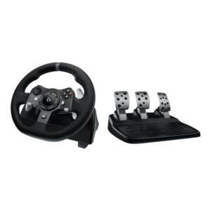 Logitech G920 Driving Force (Xbox One) - Rat & Pedal sæt - Microsoft Xbox One