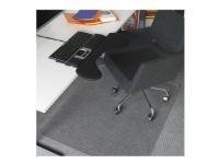 Stoleunderlag 120x150 cm Premium 3,8mm med pigge m/skrå kant (piglængde 6mm) - Matting