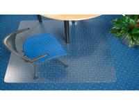 Stoleunderlag cleartex ultimat, polycarbonat med pigge, 120 x 183 cm