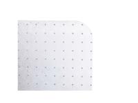 Stoleunderlag matting standard, med pigge, 100 x 120 cm, klar