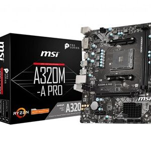 A320M-A PRO bundkort AMD A320 Stik AM4 micro ATX
