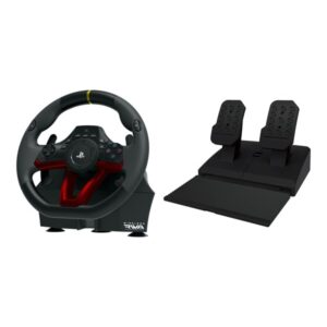 HORI Wireless Racing Wheel APEX for PlayStation 4 - Rat Pedal st - PC