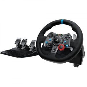 Logitech G29 Driving Force Rat Og Pedaler Til Ps3 / Ps4