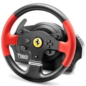 T150 Ferrari Wheel Force Feedback Sort, Rød USB Rat + Pedaler PC, PlayStation 4, Playstation 3