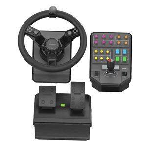 945-000062 spil-controller Sort Rat + Pedaler Analog/digital