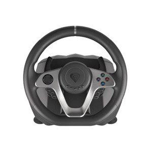 Seaborg 400 Sort, Sølv USB Rat + Pedaler Nintendo Switch, PC, PlayStation 4, Playstation 3, Xbox 360, Xbox One