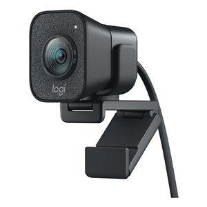 StreamCam webcam 1920 x 1080 pixel USB 3.2 Gen 1 (3.1 Gen 1) Sort