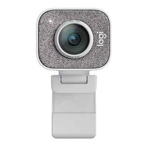 Webcam Logitech 960-001297 Full HD 1080P 60 fps Hvid
