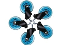 Hjul t/L33T gaming stol blå bløde 5stk/pak - (5 stk.)