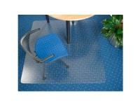 Stoleunderlag matting, pvc phthalat-fri, 2,5 mm tyk, med pigge, 120 x 150 cm