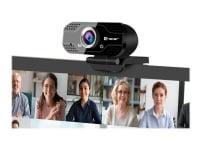 Tracer FHD WEB007 - Webcam - farve - 2 MP - 1920 x 1080 - 720p, 1080p - audio - USB 2.0 - DC 5 V