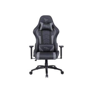 Steelplay SGC01 - chair - polyurethane polyvinyl chloride (PVC) hard foam - grey Kontor Stol - PU Læder - Op til 150 kg